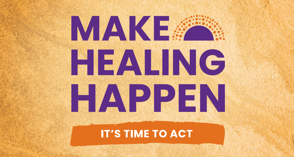 Make Healing Happen – Its time to act